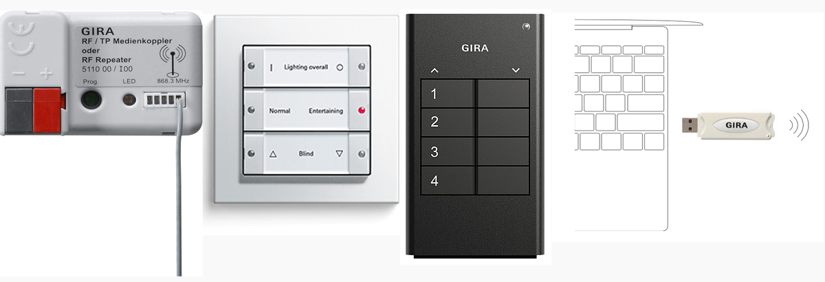 gira knx rf knx blog post ivory egg uk. Black Bedroom Furniture Sets. Home Design Ideas