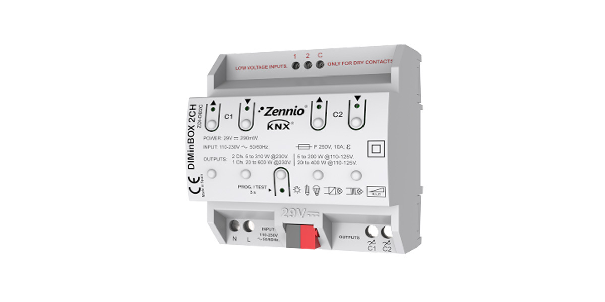 Zennio DIMinBOX 2 Channel Dimmer
