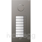 Stainless Steel Audio Door Station - 8 Call Buttons