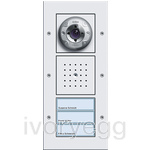 Surface Mounted Door Station - 3 Call Button, Video TX44 Pure White
