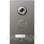 Stainless Steel External Door Station -  1 call button