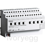 8 Gang Switching actuator 16A C-load KNX