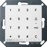 System 55 Keyless In Keypad, pure white matt