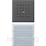 Door Loudspeaker with 2/3 Call Buttons TX44 Anthracite