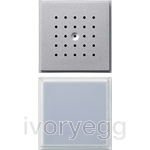 Door Loudspeaker and Call Button TX44 Colour Aluminium