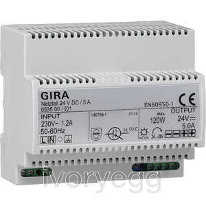 24 VDC / 5 A Power Supply
