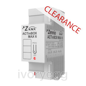 CLEARANCE ITEM - ACTinBOX MAX6. KNX multifunction actuator - 6 outputs