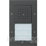 Surface Mounted Door Station - 3 Call Buttons, Audio TX44 Anthracite