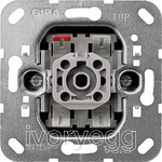 1 gang 2-way  switch insert 10 A/250 V~