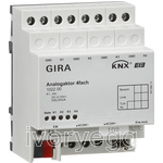 Analogue actuator, 4-gang, - Instabus KNX