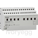 8 Gang Switching actuator 16A KNX