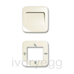 Cover plate - white