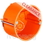 CLEARANCE ITEM - KAISER Cavity wall one-gang box Perilex