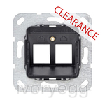 CLEARANCE ITEM - GIRA Modular Jack 3 Support ring