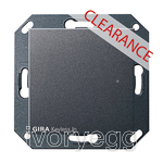 CLEARANCE ITEM - GIRA System 55 Keyless In Transponder reader, anthracite