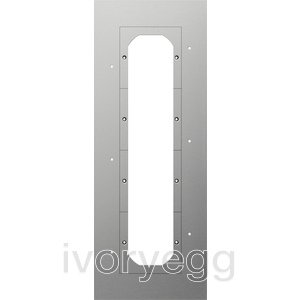 Mounting Plate 4-gang, Door communication System