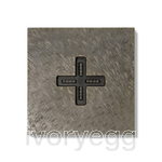 Eve plus wall base cover fer forge grey
