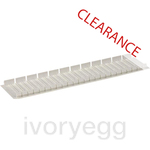 CLEARANCE ITEM - ABB 12 Module Blanking Strips - 5 Pieces