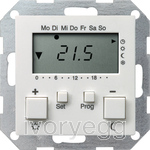 Room Temperature Controller with clock and cooling function