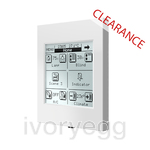 Clearance Item - InZennio Z38i. KNX Touch Panel - White