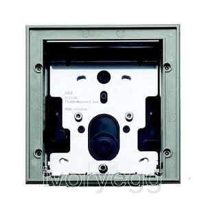 Flush-mounted installation box, size 1/1 - light grey
