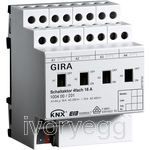 4 Gang Switching actuator 16A KNX
