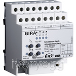 Switching/blind actuator 4-gang/2-gang KNX