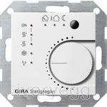 KNX Continuous Control btn I/F 4-gang System 55 pure white