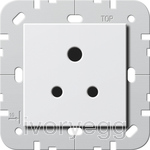 CLEARANCE ITEM - British Standard 5A Socket Outlet in pure white