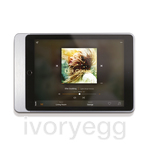 "Eve Plus Sleeve - iPad 9.7"" - brushed aluminium"