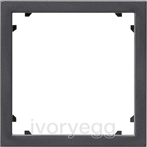 Adapter frame 45x45 square System 55 Anthracite