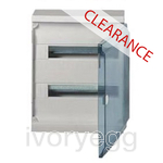 CLEARANCE ITEM - HAGER SURFACE MOUNTING ENCL.36 MOD TRANS DOOR