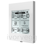 InZennio Z38i. KNX Touch Panel - White