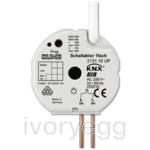 KNX Flush mounted switch actuator, 1-gang with satellite input