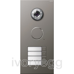 Stainless Steel External Door Station -  4 call buttons