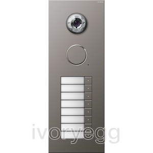 Stainless Steel External Door Station -  8 call buttons