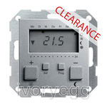 CLEARANCE ITEM - GIRA Room Temperature Controller with clock and cooling function