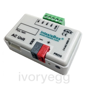 KNX interface for DAIKIN AC indoor units (Domestic) with 4 Binary Inputs