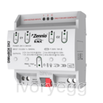 DIMinBOX DX2. Universal dimmer  actuator.  2 channels x 310W or 1 channel x 600W