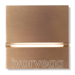 Via Walkway Light Front - soft copper