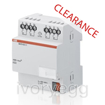 CLEARANCE ITEM - ABB Switch Actuator, 4-fold, 6 A, MDRC