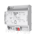 KNX power supply 320mA plus 29VDC ancillary power supply. Vin: 110VAC