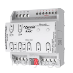 MAXinBOX Hospitality.  Fan coil controller  for 2/4-pipe unit with 2 16A C-load outputs and 6 a/d inputs