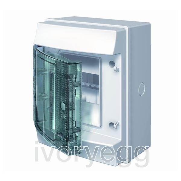 Mistral65 4 Way 1 Row Distribution Board with Transparent Door ...