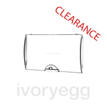 CLEARANCE ITEM - HAGER TRANSPARENT DOOR FOR GD110E