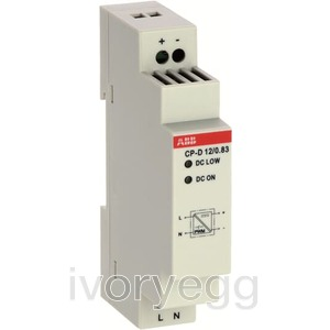 12VDC 0.83A POWER SUPPLY - CP-D 12/0.83,1SVR4