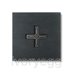 Eve plus wall base cover brushed dark grey