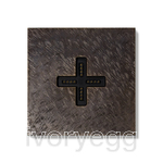 Eve plus wall base cover fer forge bronze