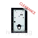 CLEARANCE ITEM - ABB Welcome Flush Mount Wall Box, Size 1/2 - anthracite matt