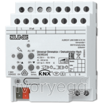 KNX LED universal dimming actuator / speed regulator, 1-gang